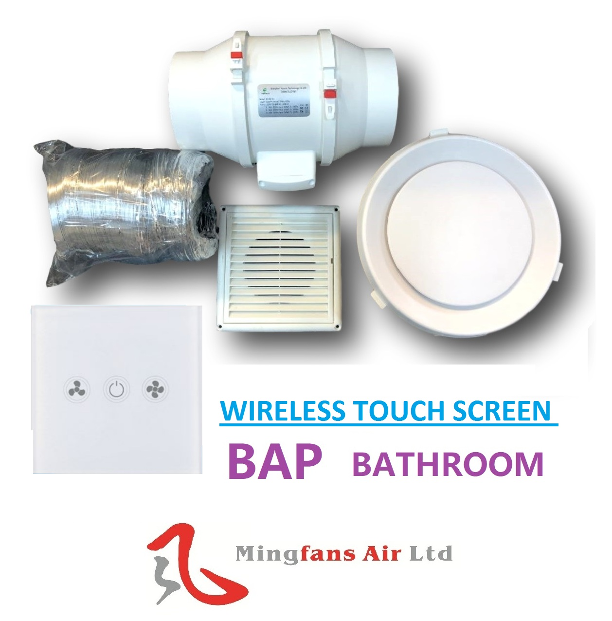 BAP & BAPR SERIES BATHROOM/EXHAUST FAN SYSTEM
