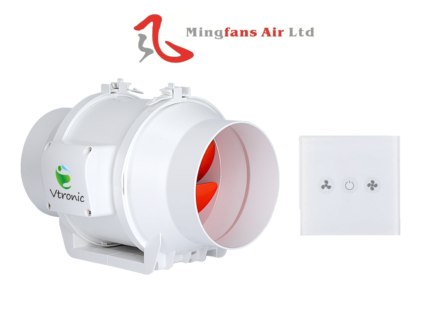 INLINE MIXED-FLOW FAN