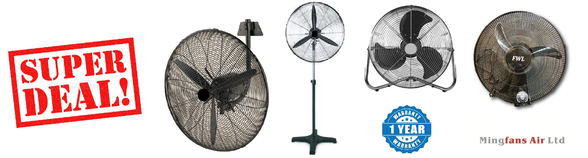 FB FS FE HWI COMMERCIAL FAN RANGE