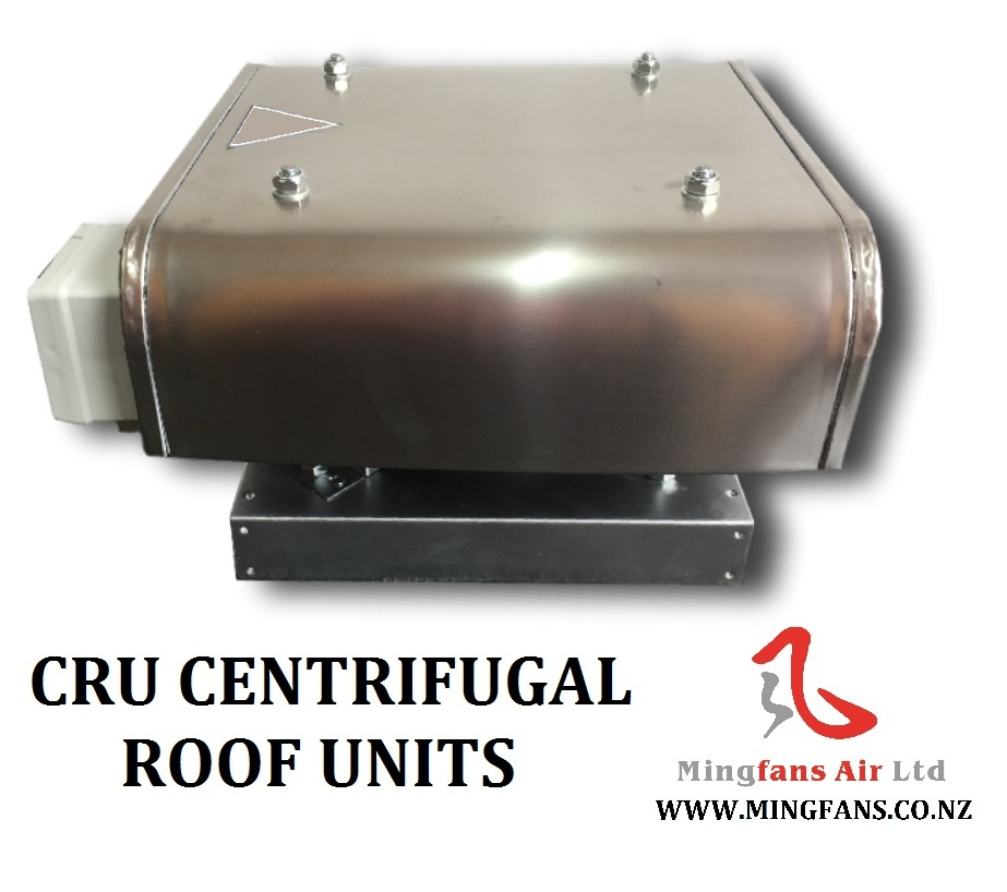 CRU SEREIS CENTRIFUGAL FAN ROOF UNITS